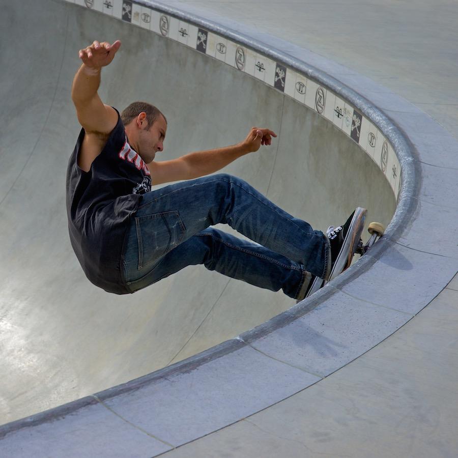 Top Stories: foto van skater.
