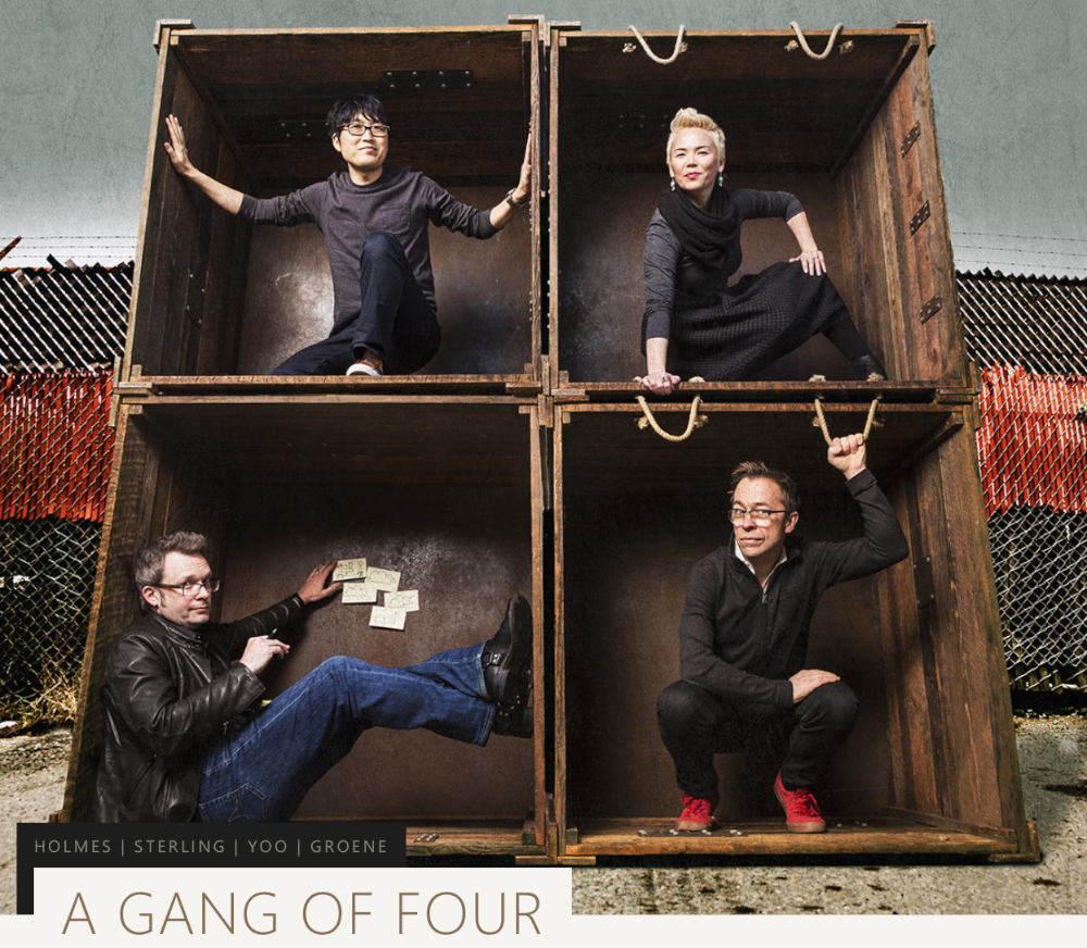 Microsoft Stories 'A Gang of four'